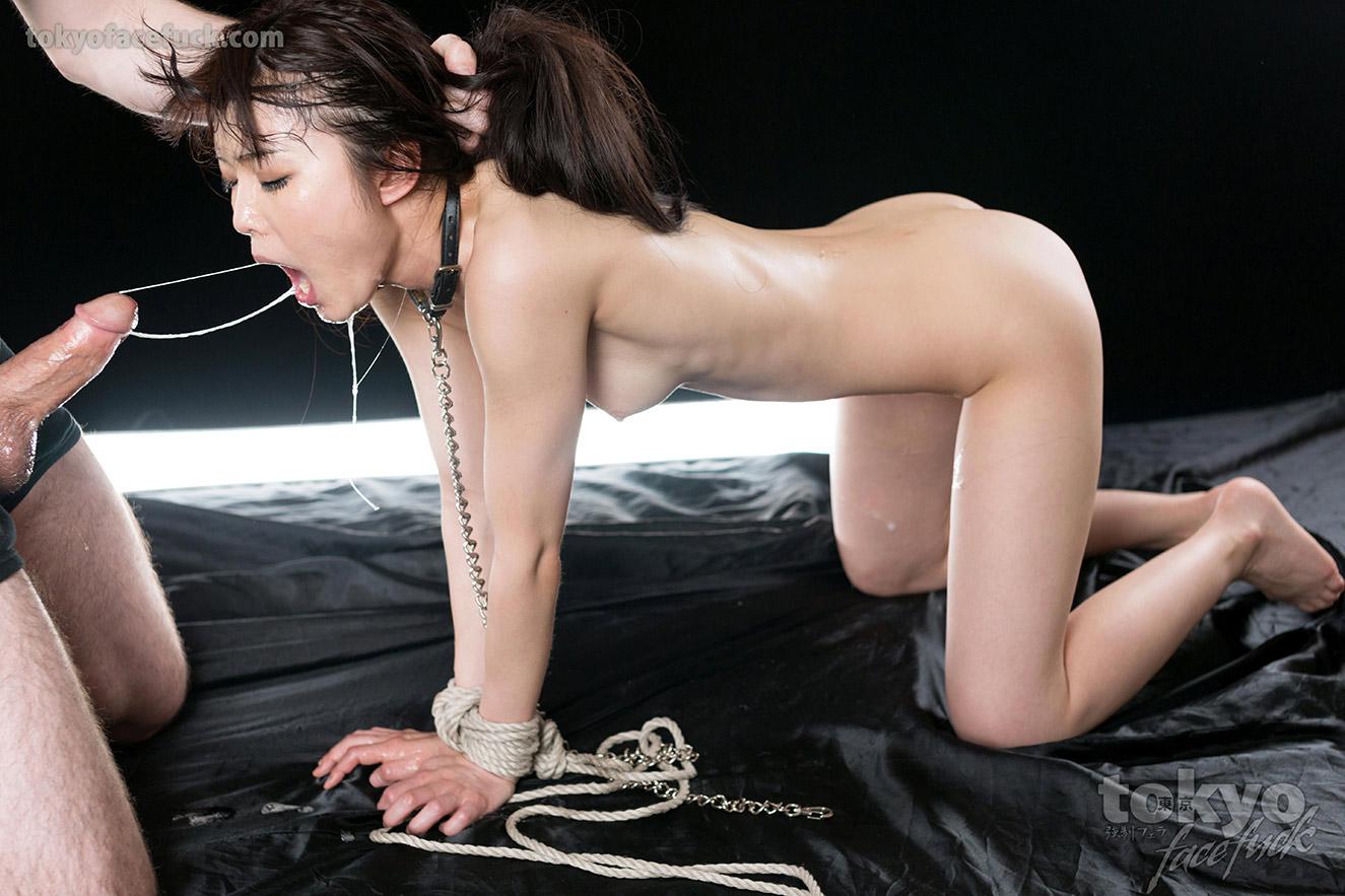 Throat fucked slut face planted on her puke - 3 part 4