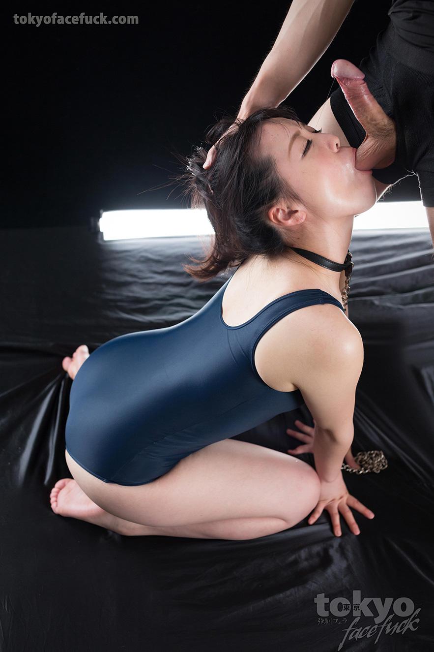 Throat fucked slut face planted on her puke - 3 part 10
